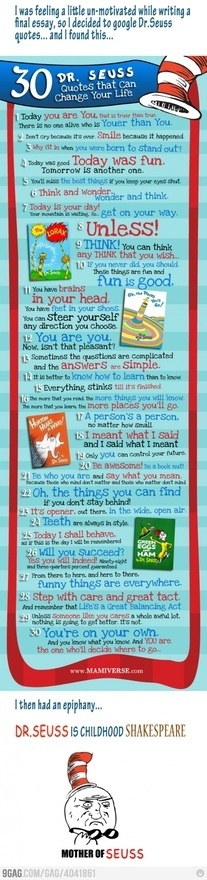Dr. Seuss baby, Dr. Seuss!: 30 Dr., Inspiration, Life Lessons, Menu, Drseuss, Seussquotes, Dr Suess, Dr. Suess Quotes, Dr. Seuss Quotes