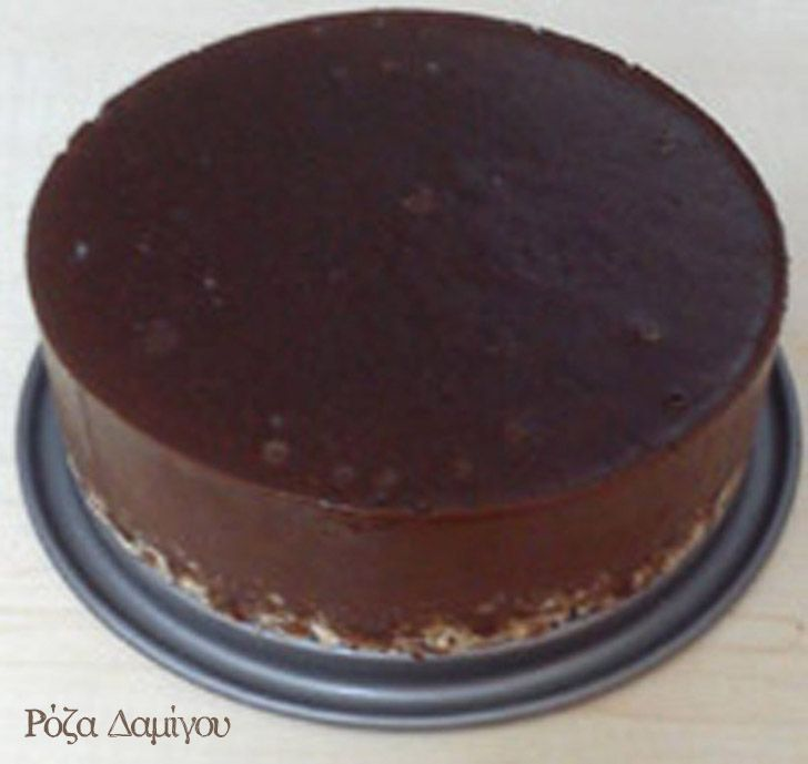 Freezer pie σοκολάτας