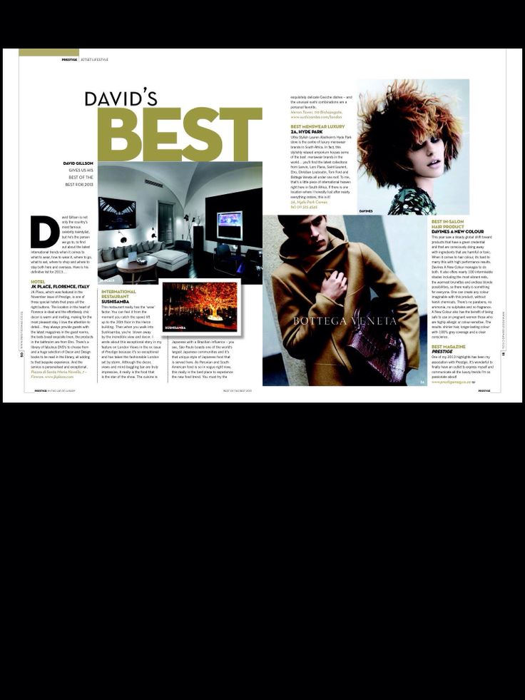 My Best of the Best Prestige Dec issue.