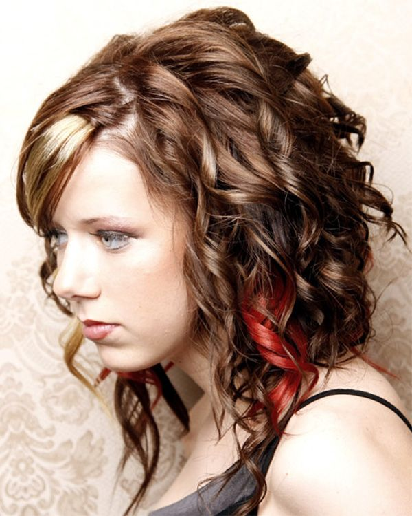 Cute Hairstyles For School With Curly Hair : Best ideas about easy curly hairstyles on