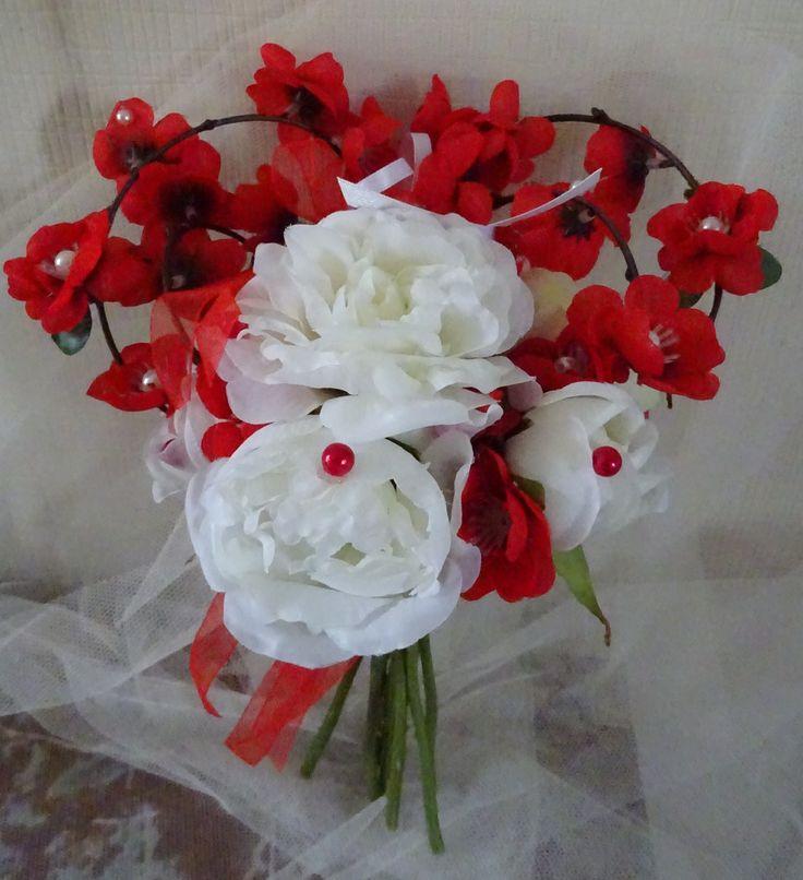 25 best ideas about bouquets de mari e rouges on. Black Bedroom Furniture Sets. Home Design Ideas