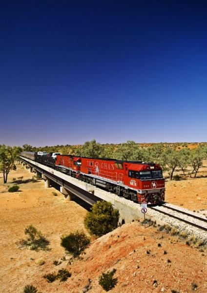 the-ghan. The best way to see my country. Sit back and enjoy the ride. This is on my bucket list......
