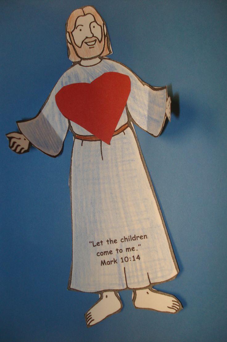 Best 25 Jesus Crafts Ideas On Pinterest Kids Church