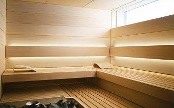 Design-Sauna SHAPE Innenansicht