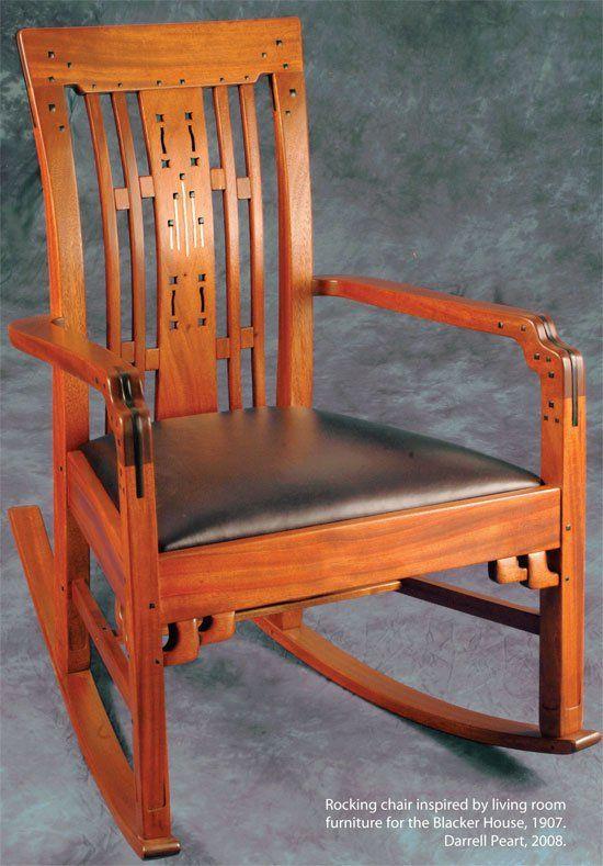 ... Rocking, Style Furniture, Greene Craftsman, Rocking Chairs, Craftsman