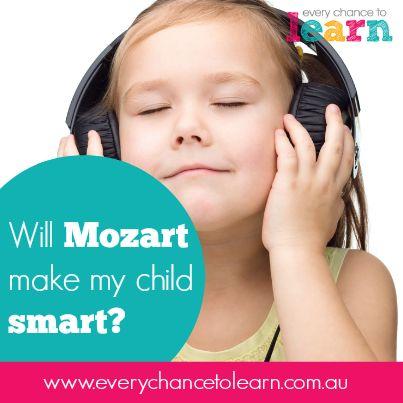 Will Mozart make my child smart?