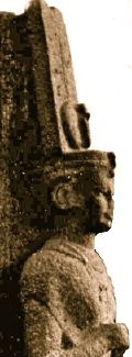 Shanakdakhete - African Queen of Kush. Reigned from about 177 to 155 BC (these dates are very uncertain and disputed). Meroitic hieroglyphics  in her chapl show military campaigns to the south and the capture of numerous cattle and prisoners.