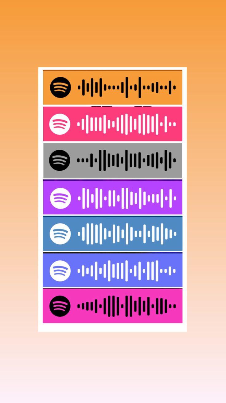 Pin de Samantha Perez en spotify code en 2020 Lyrics