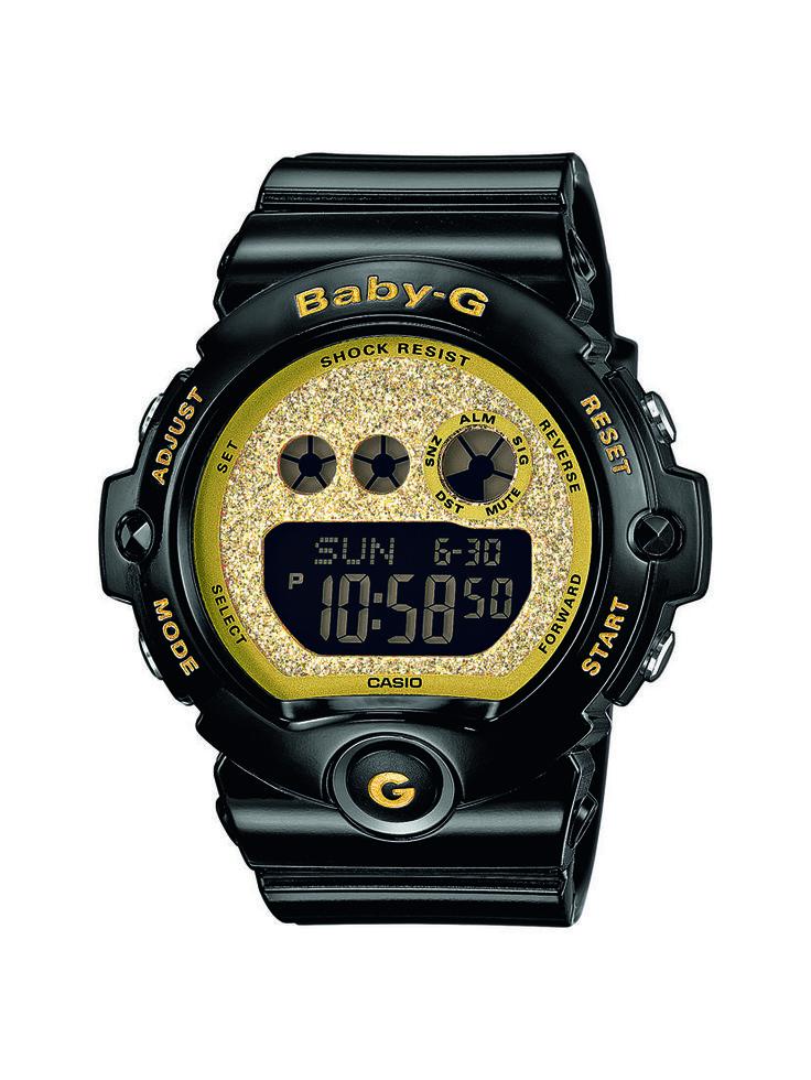BG-6900SG-1ER - Fokozottan ütés- és rezgésálló tok, WR 20 bar, 1/100 mp. Stopper 100 óra mérési idő, 60 köridő memória, 3 multi-ébresztés, timer, kristályüveg, fényriasztás, illuminátor háttérvilágítás. Javasolt fogyasztói ár: 33 990 Ft