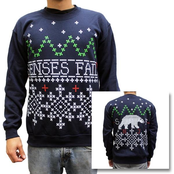 Senses Fail - Senses Fail Holiday Sweater  WANT!