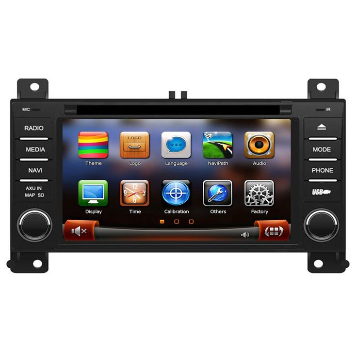 """Rupse For 2011 2012 2013 Jeep Grand Cherokee Car DVD DVD Player With BT/Ipop/SD/Handsfree Navigation System (OEM Factory Style,Free Maps). This Car Multimedia system fits:2011 2012 2013 Jeep Grand Cherokee. 5.5"""" Digital High Definition 800*480 Touchscreen. Unique 3D Flash Graphical User Interface. With Steering Wheel Control. Built-in GPS navigation."""