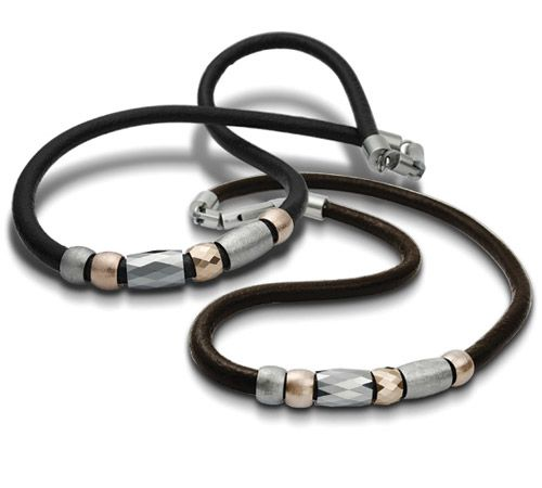 Glam rock chic: Tungsten & Stainless Necklace
