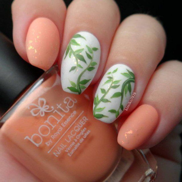 Coral Color Nail Designs: Best 25+ Coral Nail Designs Ideas On Pinterest