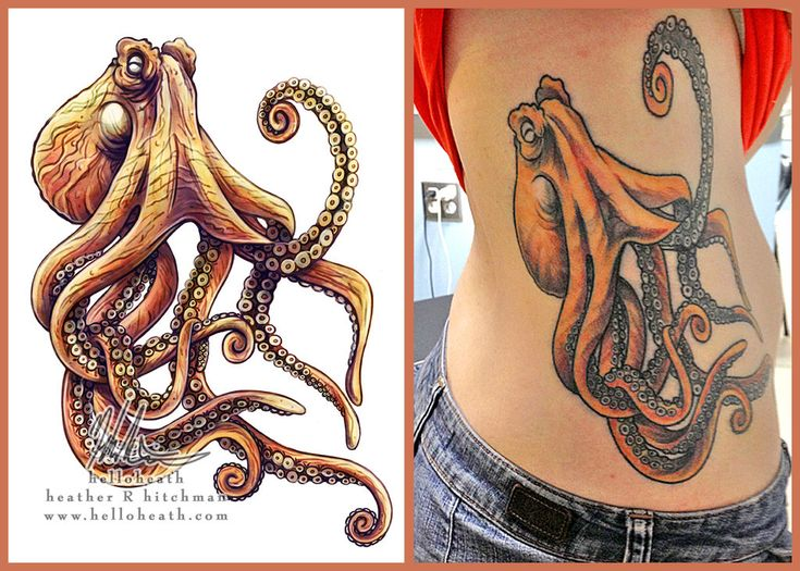 77 best octopus tattoos images on Pinterest Octopus tattoos