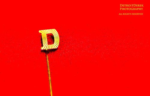 THE LETTER D!