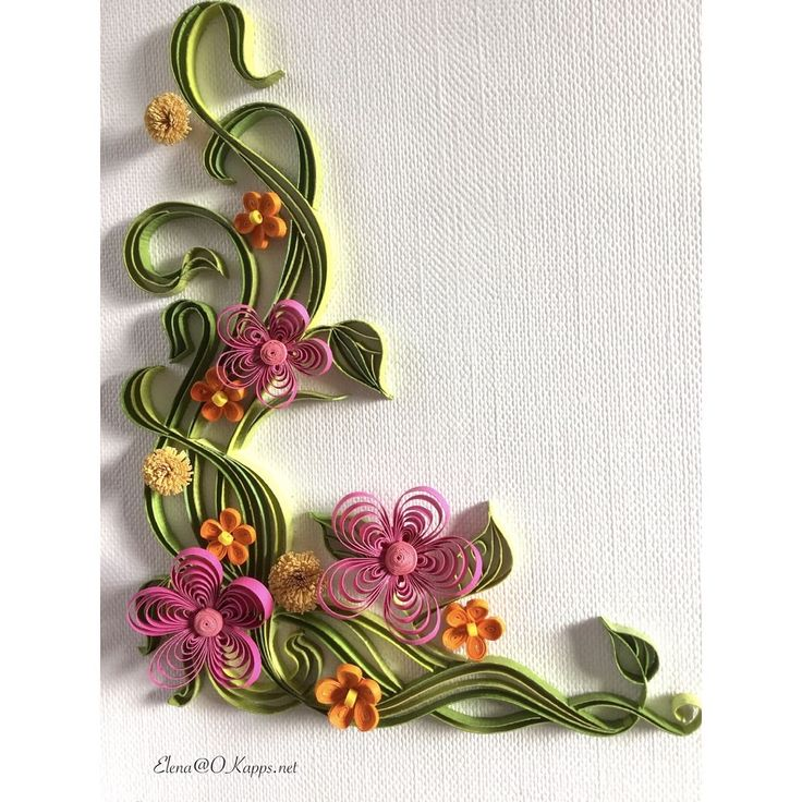 "111 Likes, 7 Comments - Elena Chiorsac (@elena_chiorsac) on Instagram: ""#quilling #card #floral"""