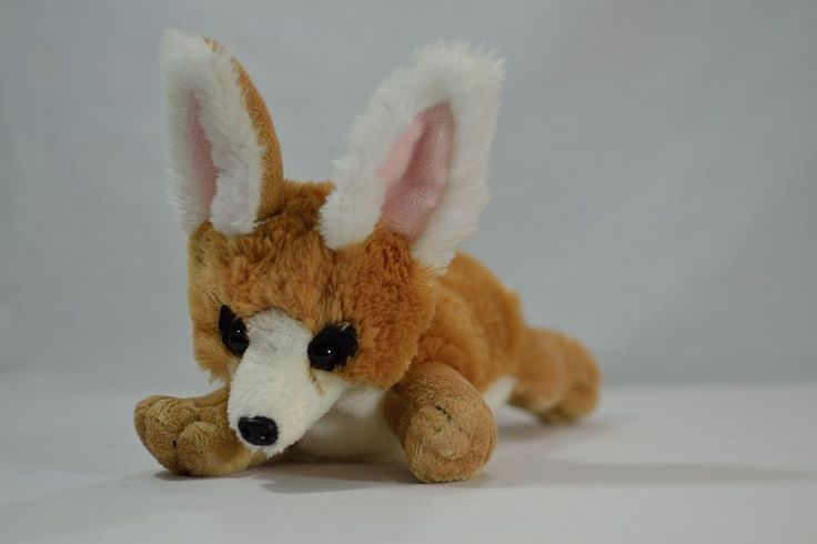 Fennec Fox Plush Stuffed Animal Wildlife Artists Inc