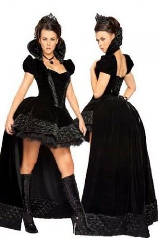 """Costume fascinoso e sexy da Dark Queen...siete pronte per """"stupire""""? :)"""