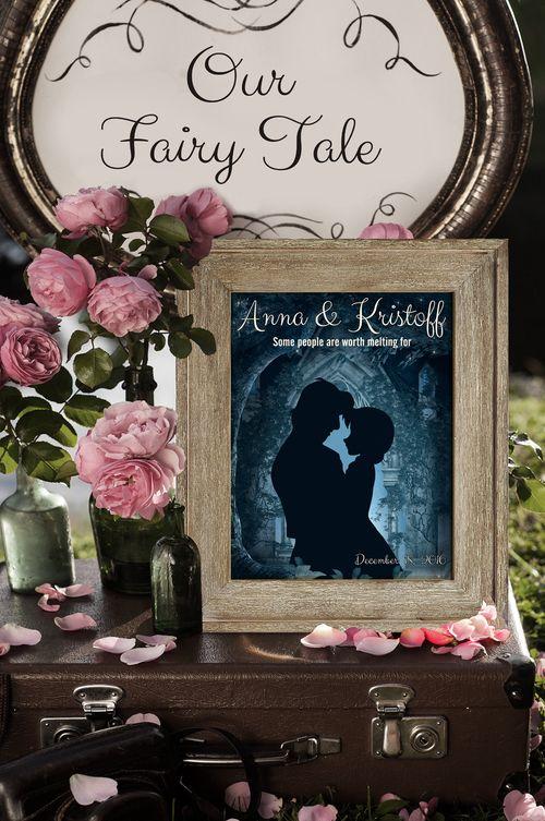 - Disney Wedding Gift - Anna & Kristoff - Personalized Wedding Gift ...