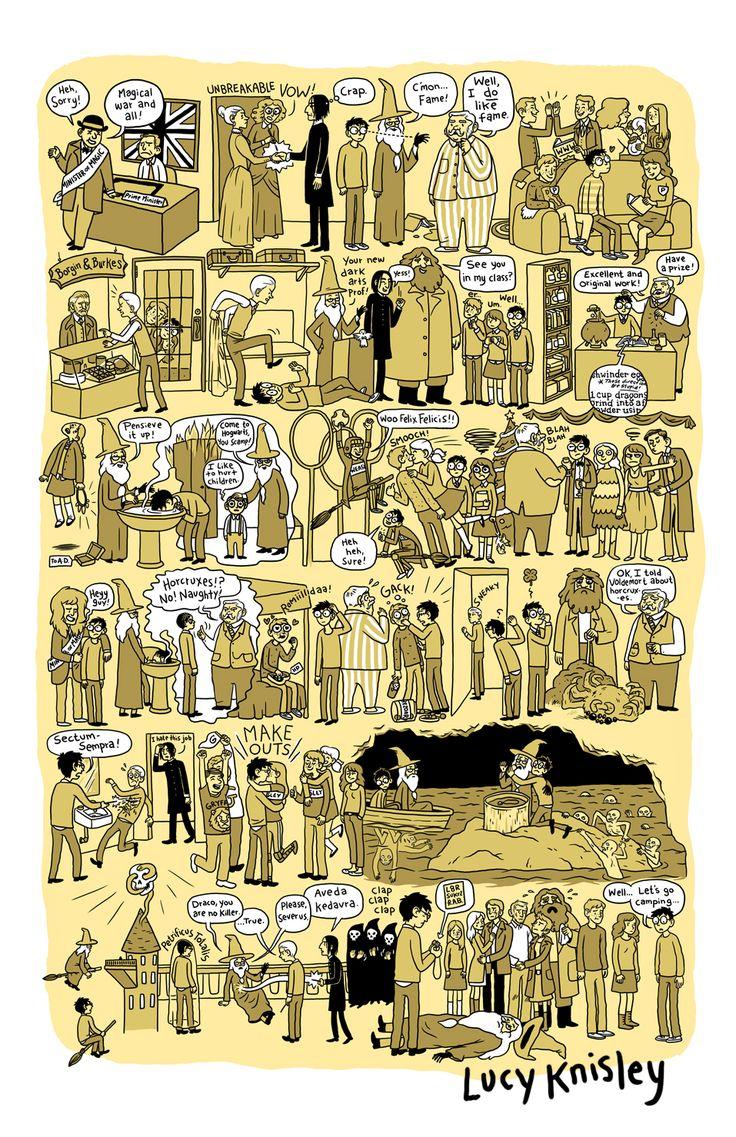 Fãs, ou não, de Harry Potter vão adorar dessa versão especial feita em quadrinhos!! As obras não são nada mais e nada menos que o resumo de cada filme, além de ajudar a relembrar as…Veja mais