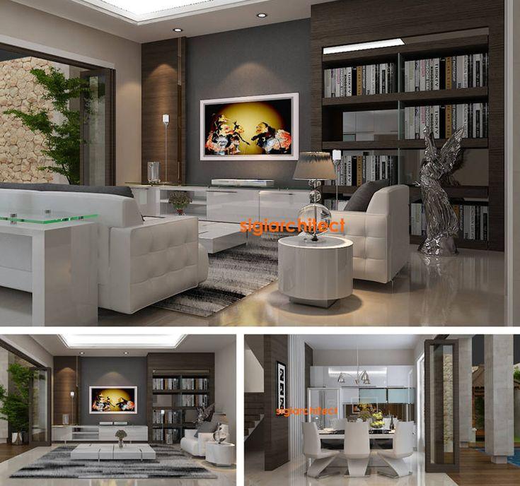 Desain Interior Villa Tropis