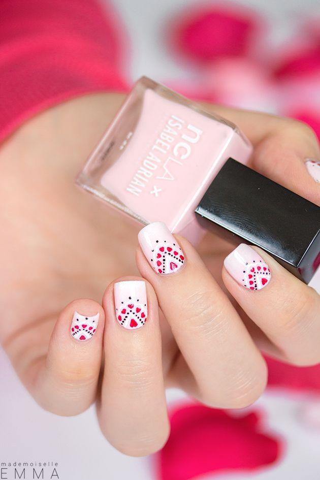 Saint-Valentin_08 ~ using NCLA 'Blush Boudoir Pink' ~ by Mademoiselle Emma