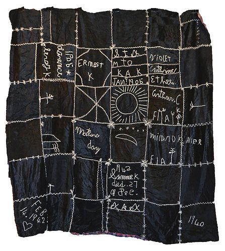 Talking Quilts with Eli Leon ~ Signature Quilt   daintytime ~ Sherri Lynn Wood
