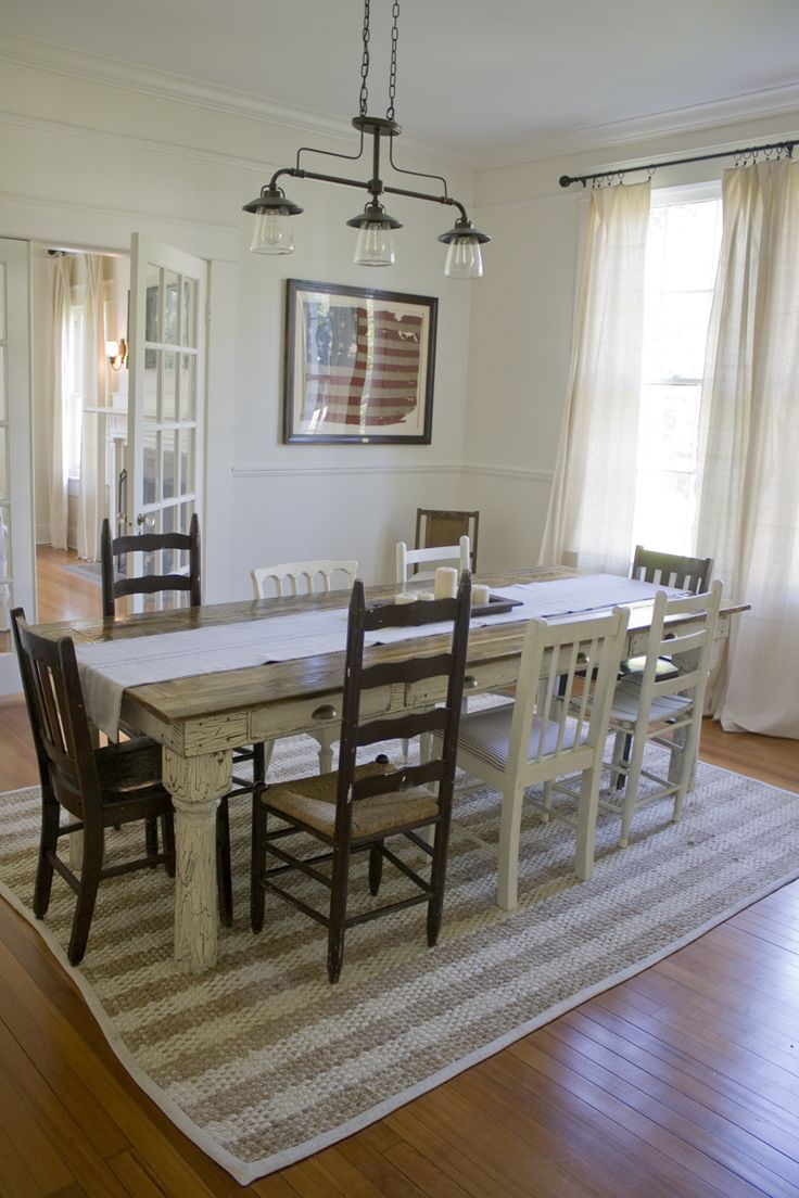 Best 25+ Cottage Dining Rooms Ideas On Pinterest