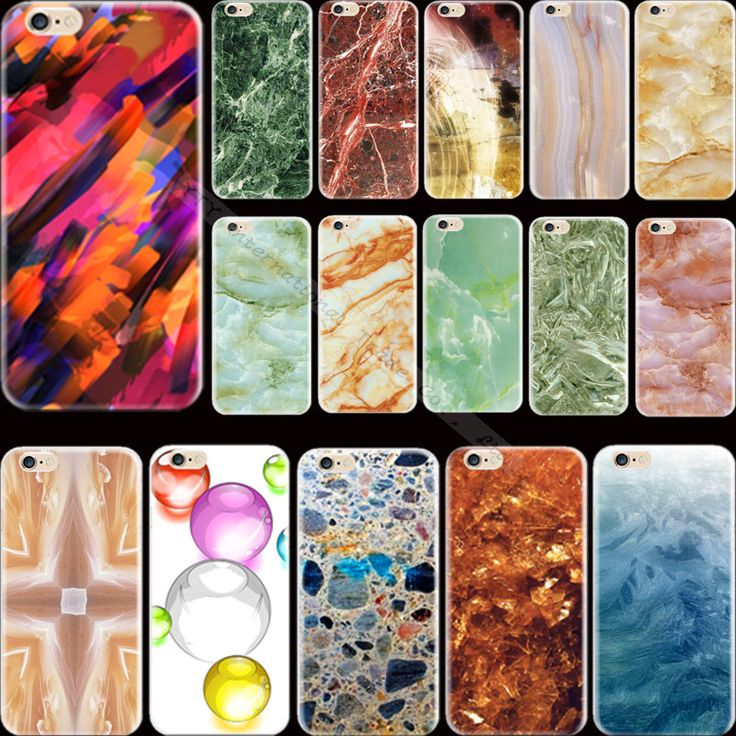 Hot Sold! Painting Grand Marble Silicon Phone Shell Cover For Apple iPhone 5 iPhone 5S iPhone5S Case Cases
