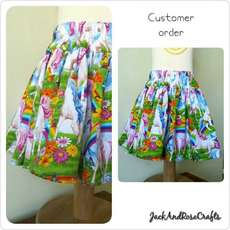 Such a bright fun skirt. Great piece  for little ladies summer wardrobe. Lot of twirling & happy memories to be made.