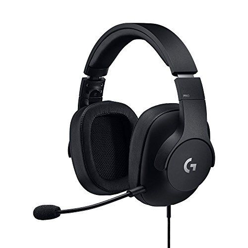 Logitech G Pro Gaming Headset Lightweight With Pro G Audio Drivers