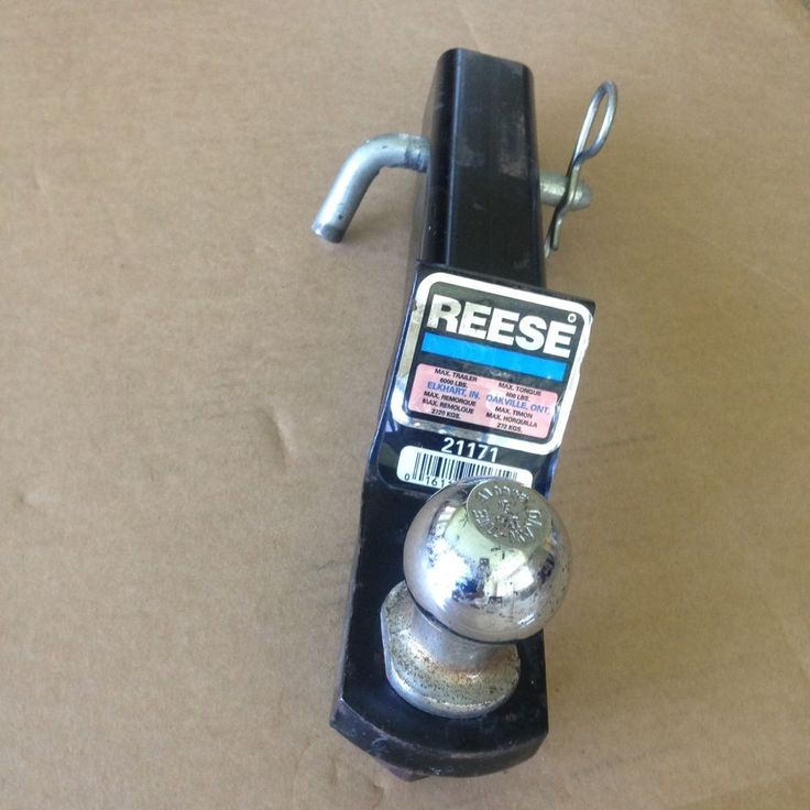 Reese 21171 Tow Hitch Max Trailer Load w/Hitch Ball  | eBay