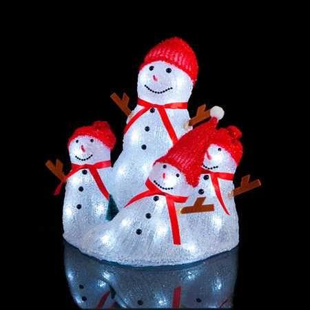 Snømannfamilie