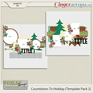 Countdown To Holiday [Template Pack 2]