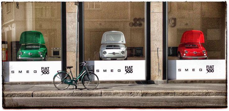 Stop window Smeg in Milano