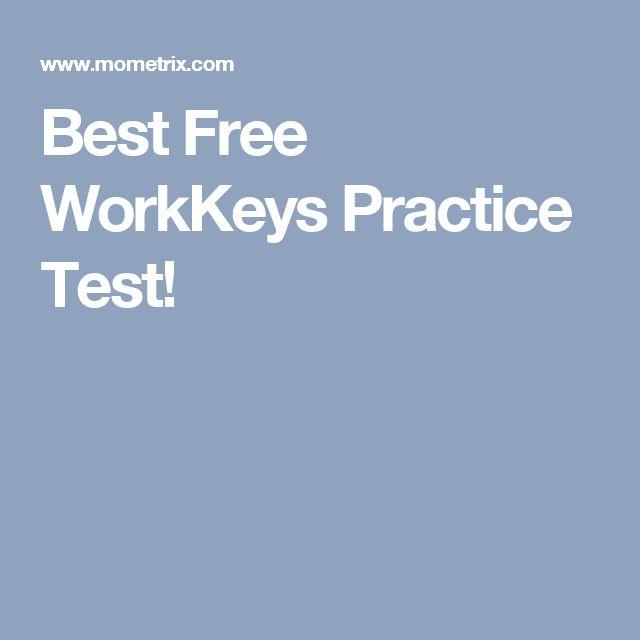 Best Free WorkKeys Practice Test!