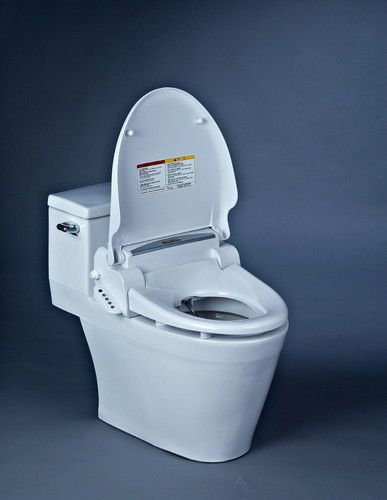 Aroma Ultraviolet Rays Q7700 Electric Remote Anti-bacterial Seat bidet Washlet (not contained toilet) -Size:Small(510mm or so)           Large (540~550mm or so)