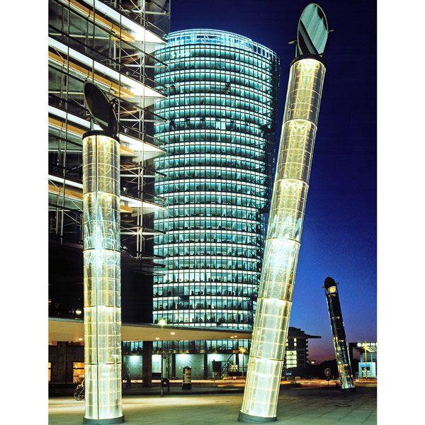 potzdamerplatz light tubes - Google Search