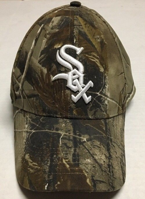 Chicago White Sox Hat Camo Hunting Baseball Cap Illinois Xfinity Outdoor  Channel  Kick10  ChicagoWhiteSox e6bcacd3ec94