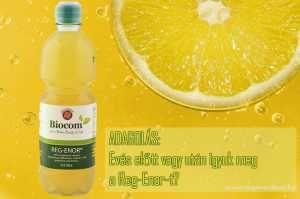 Evés előtt vagy után kell inni a REg-Enor-t?