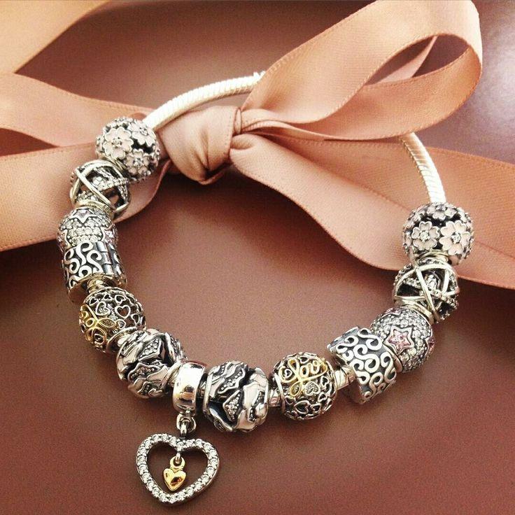 Pandora Bracelet Design Ideas pandora bracelet designs ideas 319 Pandora Charm Bracelet Pink Hot Sale