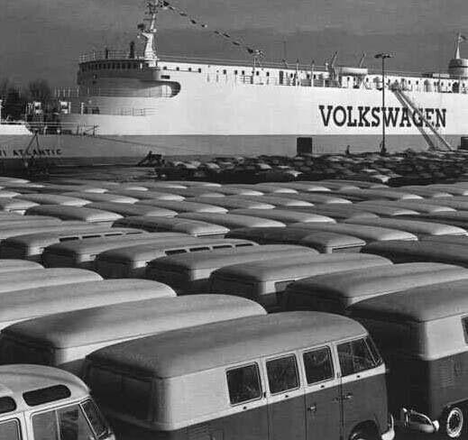 Pre embarque VW typ 2