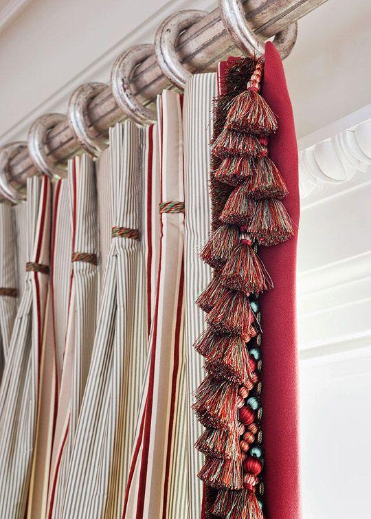 17 Best Images About Iv Trimmings 44 Tassel Fringe On Pinterest Upholstery Green Velvet