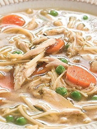 The perfect grown-up chicken soup recipe for this gross, rainy night