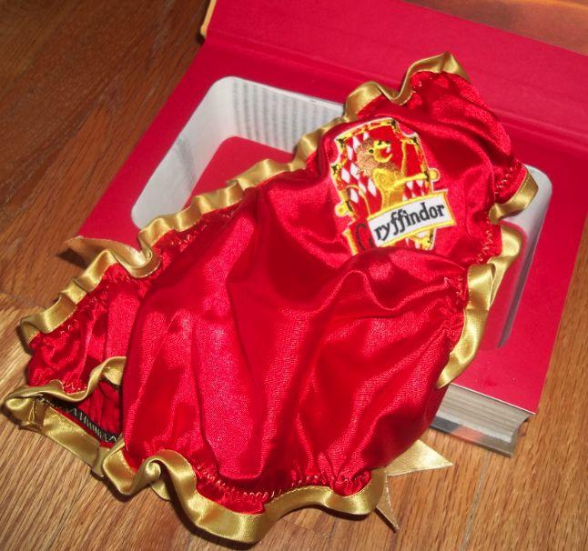 Gryffindor Panties by She Felt Geeky