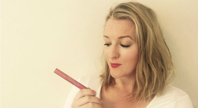 Jumping on the watercolour trend: Jacqui loves the Josie Maran Coconut Watercolour Lip Stain.