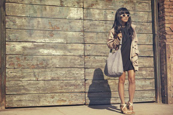 Olivia Lopez in downtown LA. #timberland #sandales #été #summer #8066A #heels #talons #nupieds 10% de remise avec le code PINT10 dans votre panier sur le site de la boutique Timberland de Nantes http://www.shop-nantes-atlantis.fr/timberland-a-la-une-nouveautes-femme-ek-stratham-heights-sandal-ankle-strap-femme-8066a,860408,860420,p.html