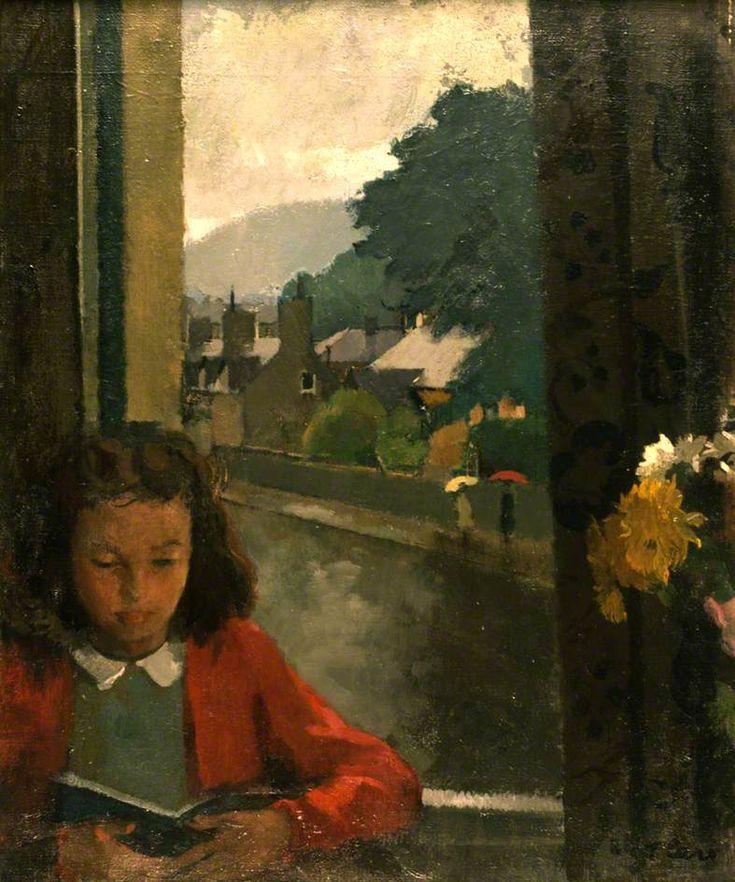 Wet Day  -  Thomas J Carr,  Irish, 1909-1999  oil on canvas,  61 x 50.8 cm