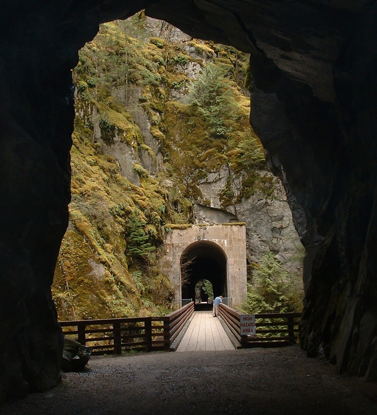 Othello Tunnels Hope BC Kettle Valley Railway Coquihalla Canyon