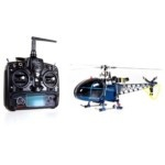 Walkera 4F200LM+2603 3D Gyroscope RC Helicopter (Blue)